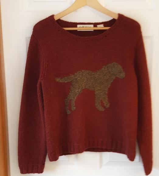 Orvis Dog Wool Sweater